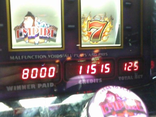 Slot Machine Win!