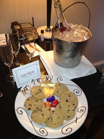 The Kimpton George Hotel: An unexpected bonus.
