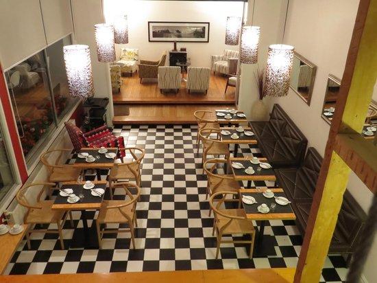Ultramar Hotel: sector mas lindo del hotel junto con la terraza
