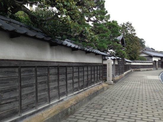 Мацуэ, Япония: 武家屋敷の街並み