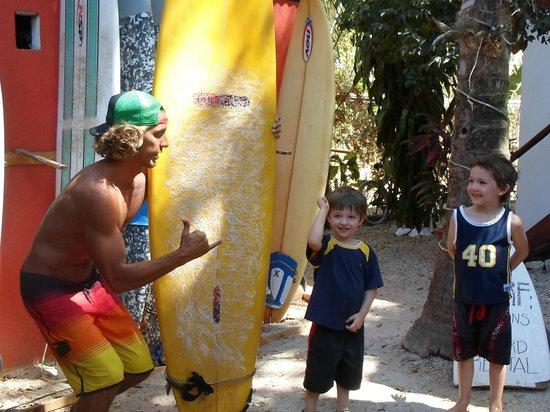 Hotel El Manglar: surf lesson