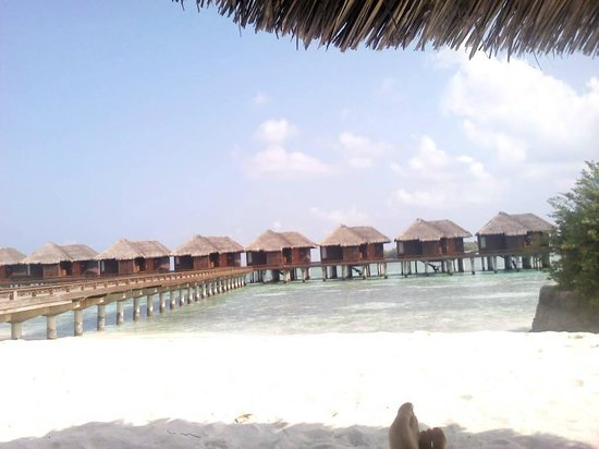 Sheraton Maldives Full Moon Resort & Spa: My favourite spot