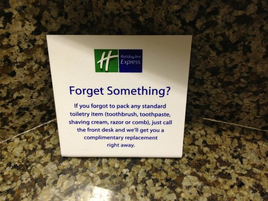Holiday Inn Express Poughkeepsie: the smartest amenity EVER!
