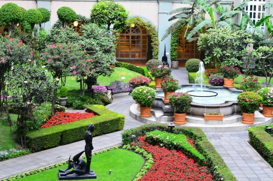 Four Seasons Hotel Mexico City View Of The Garden