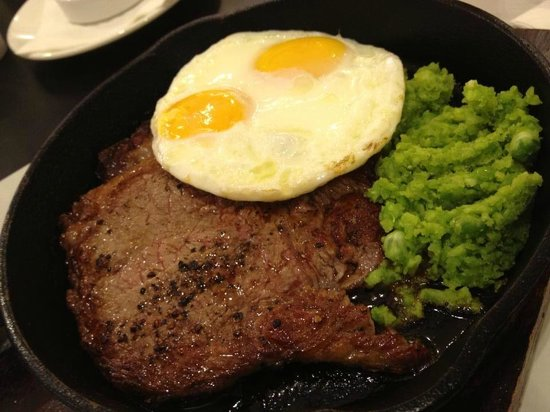 The Marmalade Pantry: steak and egg