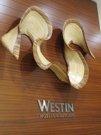 The Westin Washington Dulles Airport: Lobby Wall Sculpture - Kerry Vesper