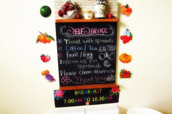 Mitraa Inn: breakfast schedule