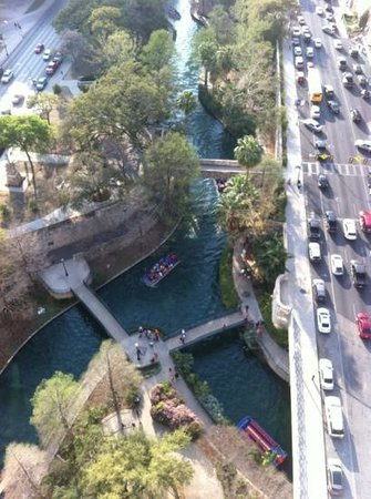 Marriott San Antonio Riverwalk: Room with a view