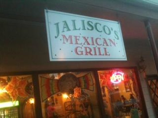 Jalisco Grill: Sign above entrance