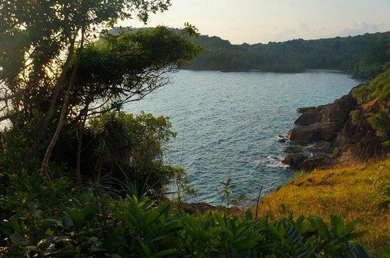 Koh Wai Beach Resort: Sunset viewpoint