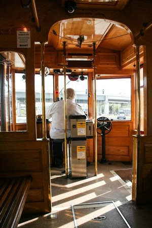 TECO Line Streetcar System: In the car