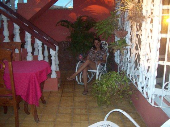 Hostal Marilu y Nelson: Terraza de la casa