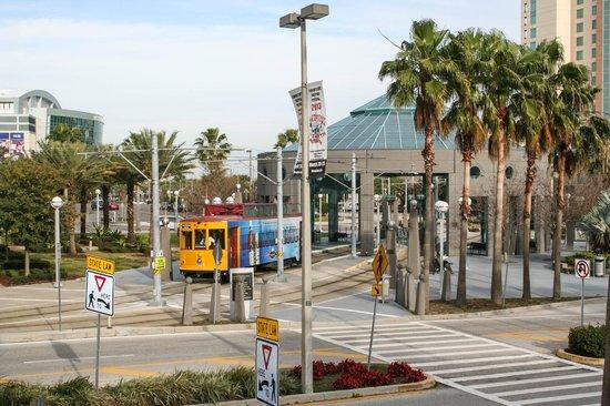 TECO Line Streetcar System: Dick Greco Plaza