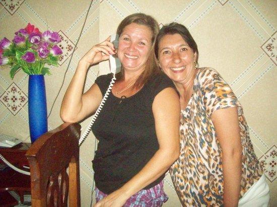 Hostal Marilu y Nelson: Marilú y yo...