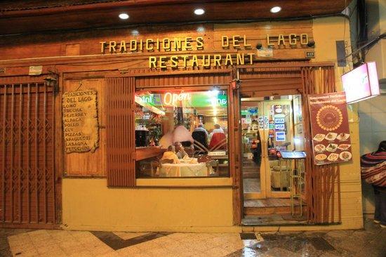 Tradiciones Del Lago: front facade