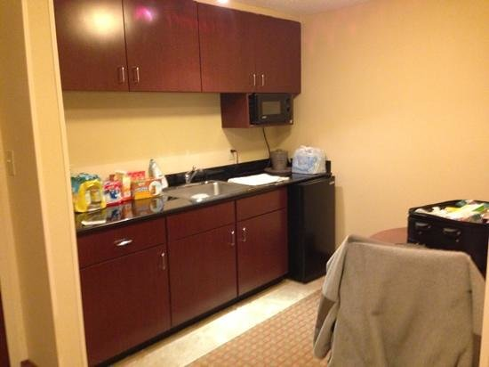 Hampton Inn Helen: Kitchenette