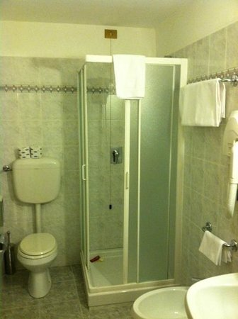Silla Hotel: Basic bathroom