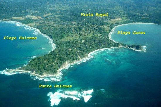 Nosara Playa Garza Hotel: garza beach