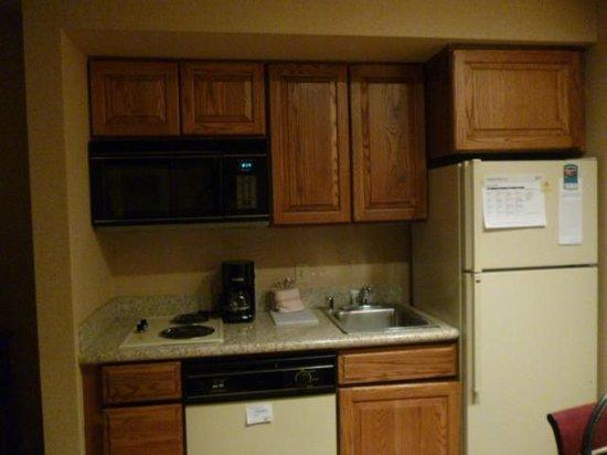 Homewood Suites Dallas/Addison: Cocina