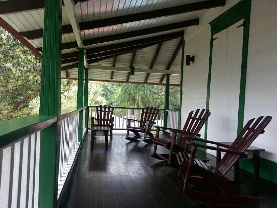 Hacienda Gripinas: balcon