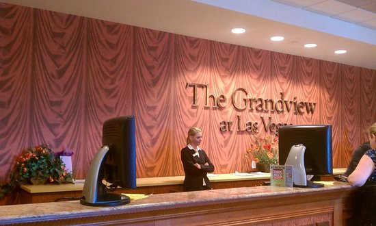 The Grandview at Las Vegas: Check in area