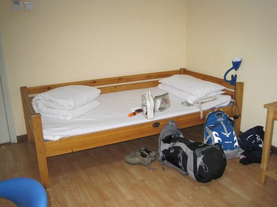 City Central Youth Hostel: Bedroom