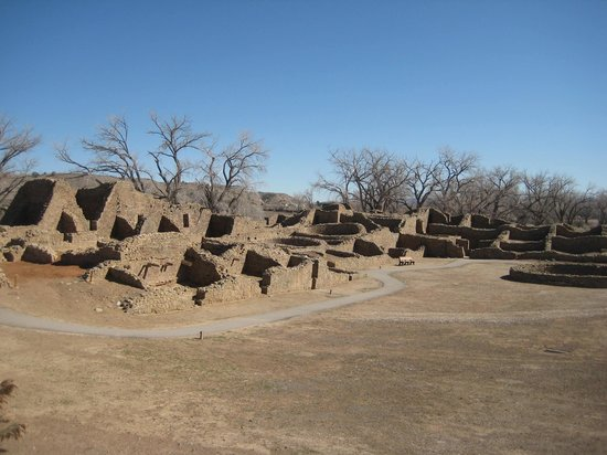 Aztec Ruins National Monument: The ruins