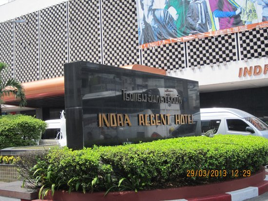 Indra Regent Hotel: hotel outlook