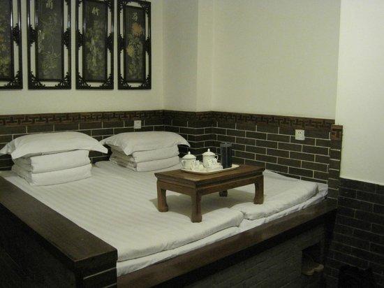 Xiangzimen International Youth Hostel: Lower level room