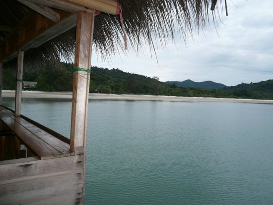 Telunas Beach Resort: View from communal dinning area.