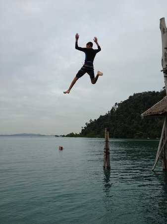 Telunas Beach Resort: High Deck