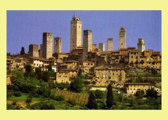 Hotel Anna Siena Nord: San Gimignano