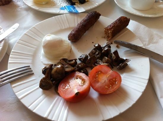 Rockvale: my vegi breakfast