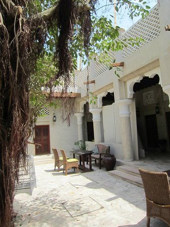 XVA Art Hotel: Courtyard for resting in the shade