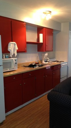 Bethy Creek Resort: Room with a living room and kitchen