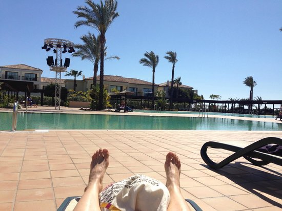 Robinson Club Playa Granada: Chilling at the pool