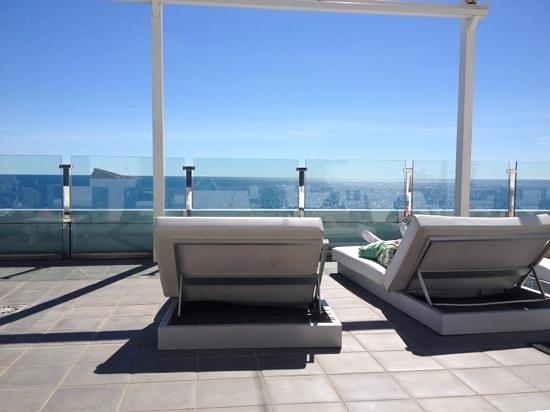 Villa Del Mar Hotel: rooftop so so nice area to spend time