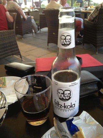 Restaurant River View: Wenn man in Hamburg schon ist bzw. ißt: Fritz-Cola
