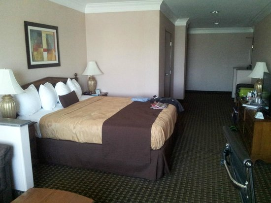 Best Western Plus Suites Hotel: Nice big, fairly comfortable bed
