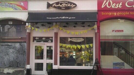 George Street Fish Restaurant & Chip Shop: George St fish+chip shop
