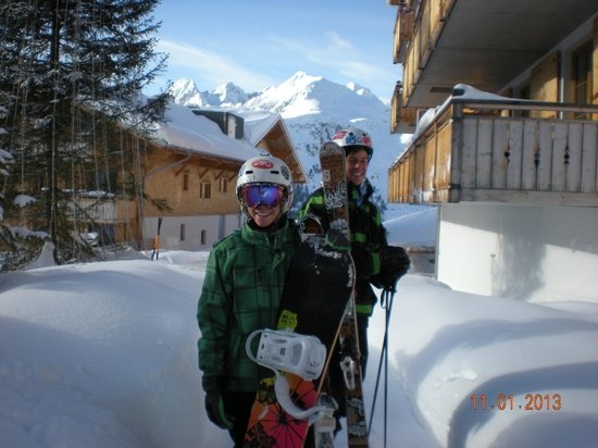 AlpinLodges Kuhtai: ski in ski out