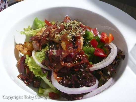 Hotel Rural Residencia San Pedro: Crisp fresh salads