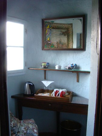 La Maison de l'Argentier du Roy: parte del desayunador en la habitacion Belle Epoque