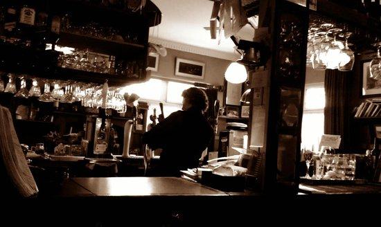 Radio Springs Hotel: The bar.
