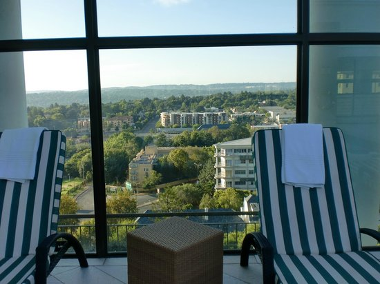 Holiday Inn Sandton - Rivonia Road: View from Swimming Pool area 9th floor