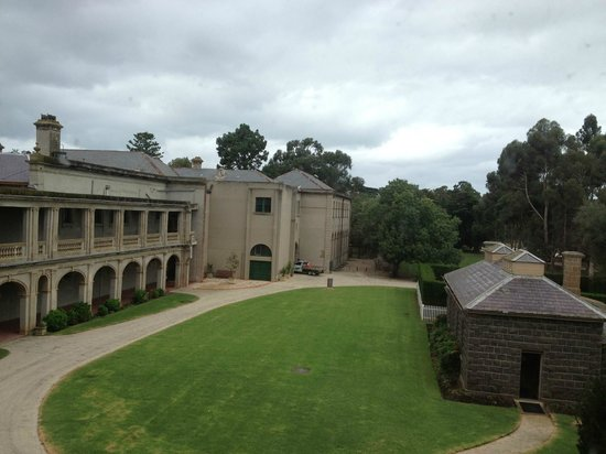 Mansion Hotel & Spa at Werribee Park: view from my room