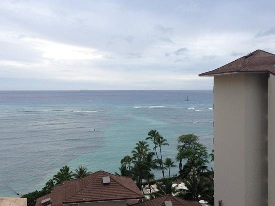 Waikiki Parc Hotel: View from our balcony on level 12