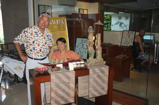The Vira Bali Hotel: asethetician