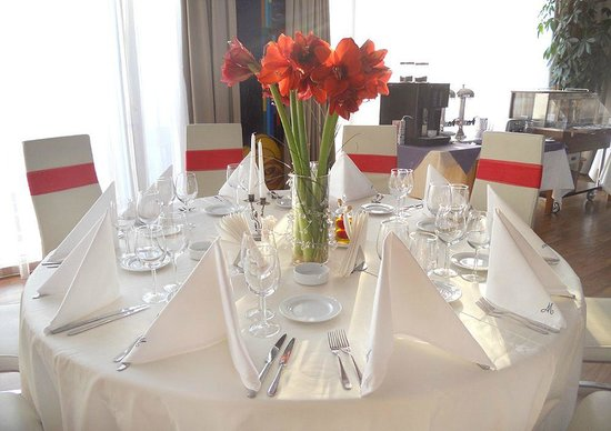 Marshal Garden Hotel: Special Restaurant Arrangement