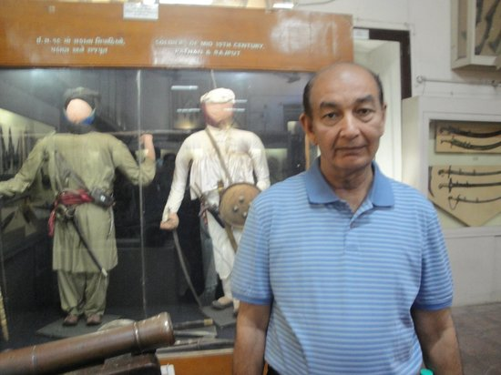 Darbar Hall Museum: The royal soldiers' uniforms